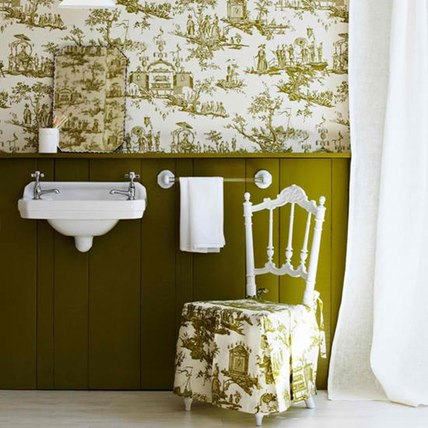 1-best-10-bathroom-wallpapers-green-white