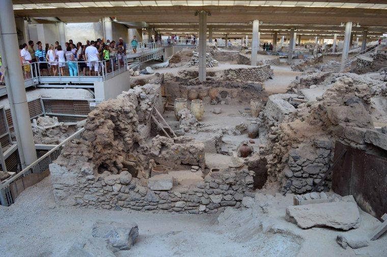 Ανασκαφές Ακρωτηρίου